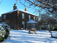 Marton House In Winter